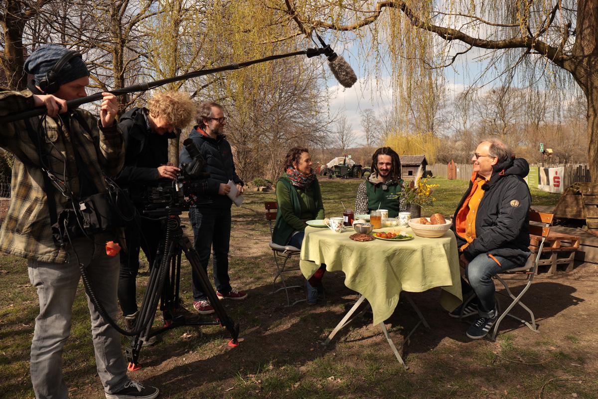 Kraft der Heilpflanzen: ZDF dreht in Herten