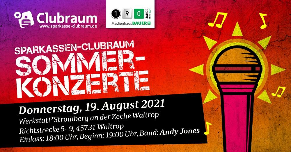 Sparkassen-Clubraum- Sommerkonzert - Zeche Waltrop