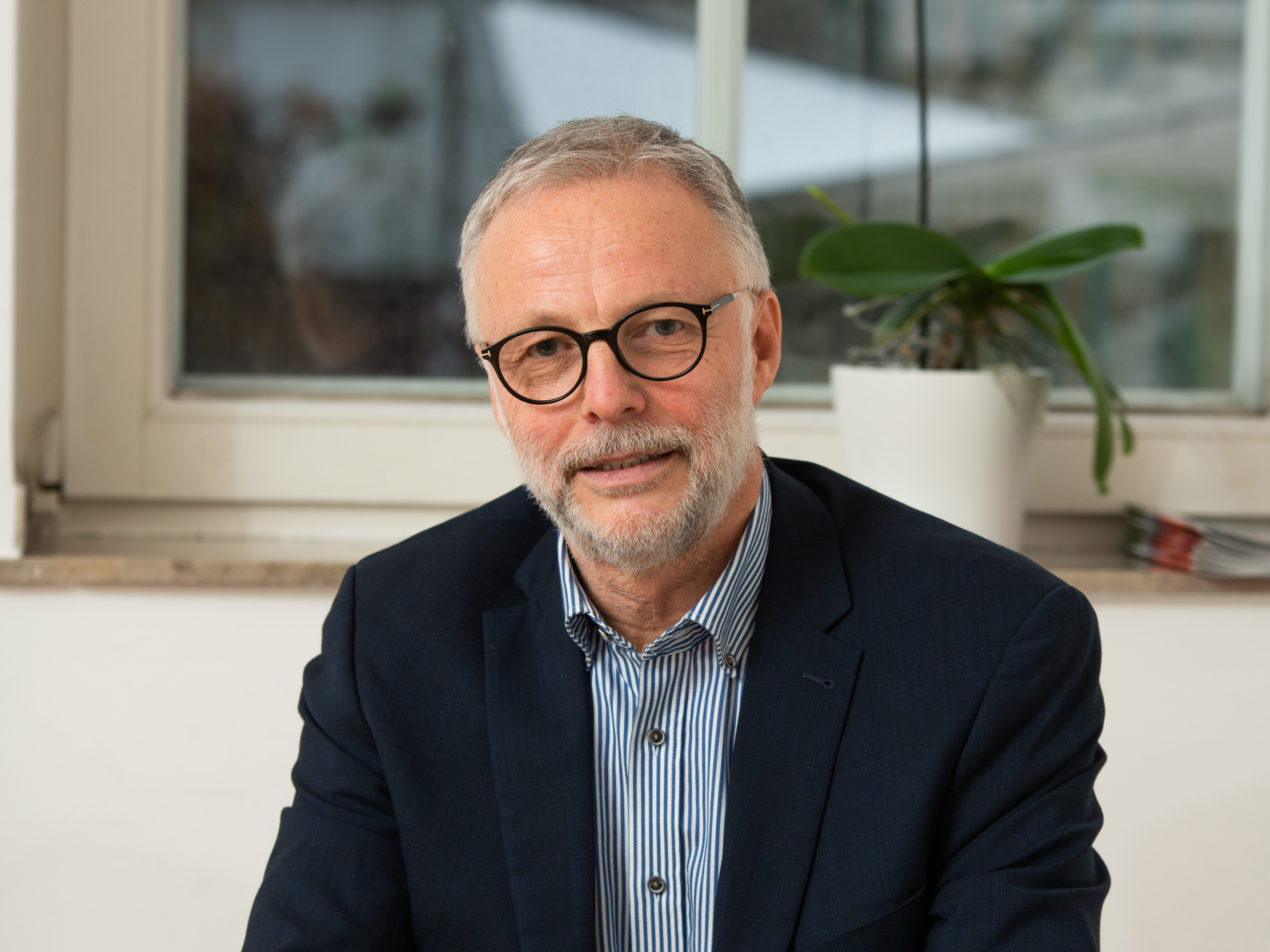 Bürgermeister Matthias Müller bei den Hertener Gesprächen