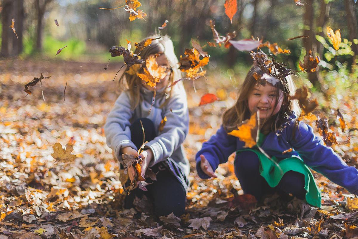 Kreative Bastelideen für Kinder im Herbst